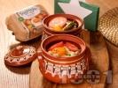 Рецепта Сирене по шопски с яйца Багрянка